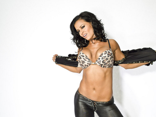 Diva WWE kertas dinding called Candice Michelle
