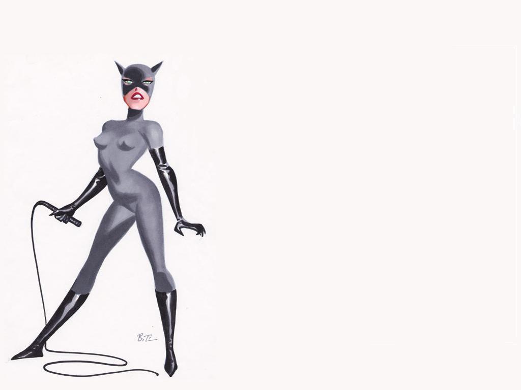 Catwoman Cartoon Drawing