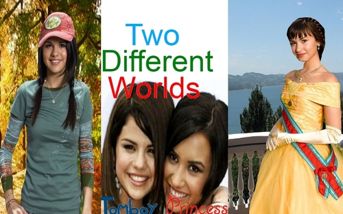 Demi And Selena - Princess Protection Program Hintergrund