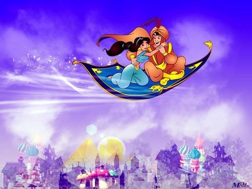 Classic Disney wallpaper entitled Alladin