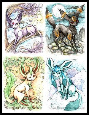 Eevee's Evolutions