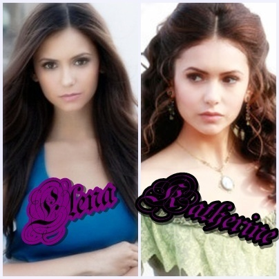 Katherine Pierce and Elena Gilbert wallpaper titled Elena & Katherine