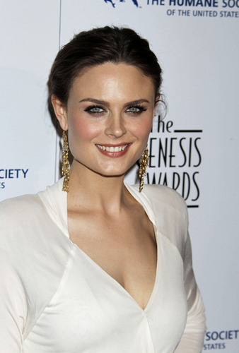 Emily at Genesis Awards 2010