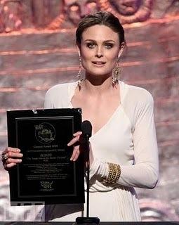 Emily at the Genesis Awards
