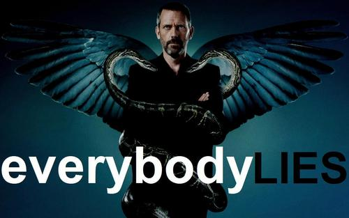 House M.D. kertas dinding titled Everybody Lies