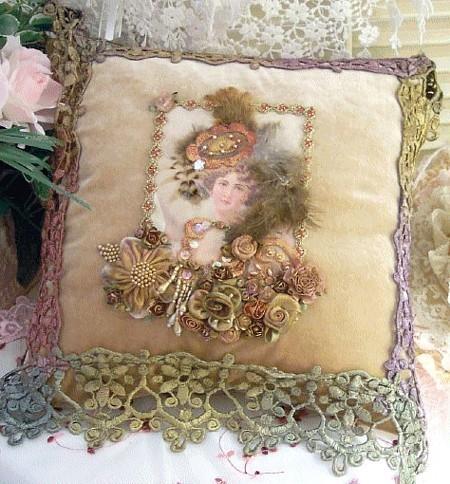 Vintage Victorian Pillows : Exquisite Victorian Cushion - Vintage Fan Art (11092386) - Fanpop