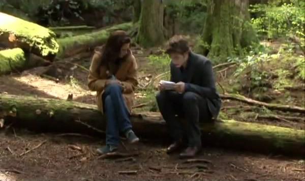 Filming the Break Up Scene | Screencaps