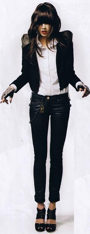 Grazia-Michael Jackson tribute