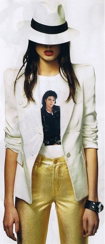 Grazia-Michael Jackson tribute