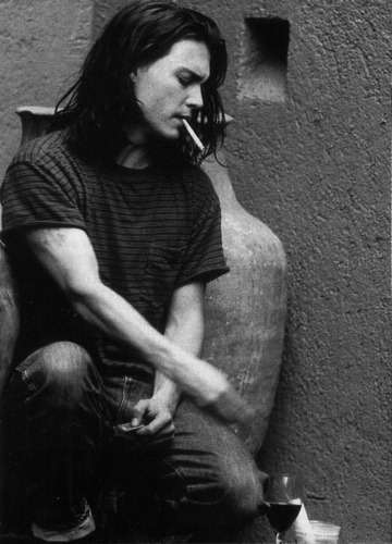 Greg Gorman 照片 session October 1993