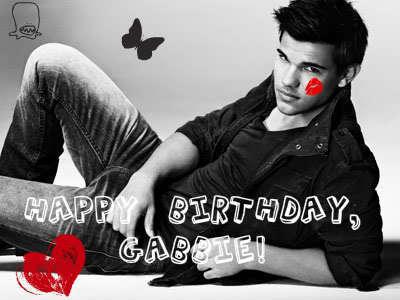 HAPPY BIRTHDAY GABBIE!