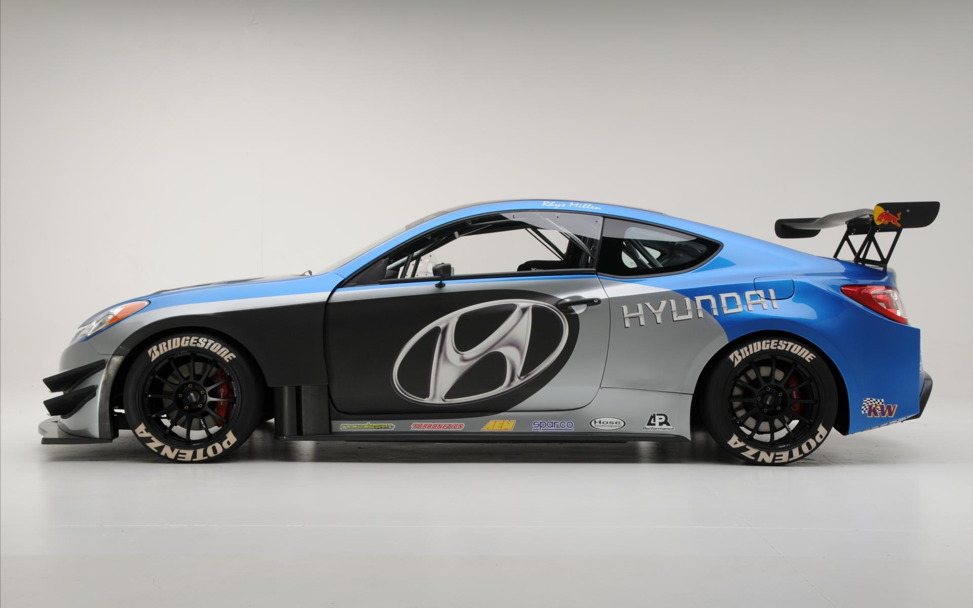Hyundai Genesis Coupe Rhyse Millen Racing Hyundai