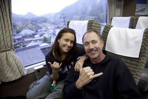 Hayden in Giappone