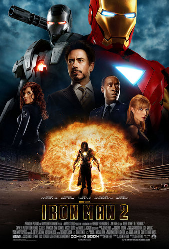 Iron Man 2 poster - iron-man Photo