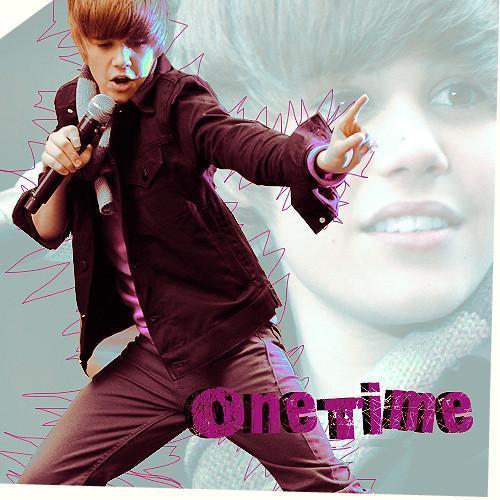J.Bieber one time