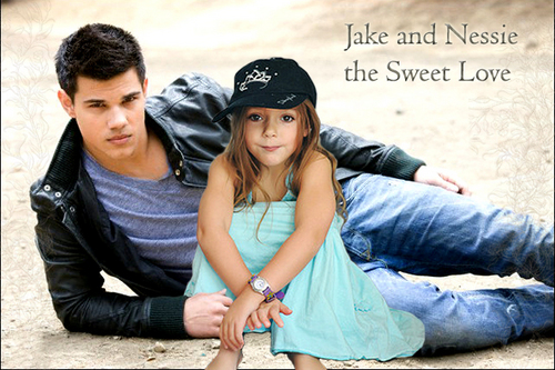 Jake and Nessie a Sweet Liebe