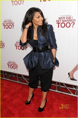 Janet @ Why Did I Get Married Too premiere