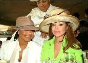 Janet with La Toya