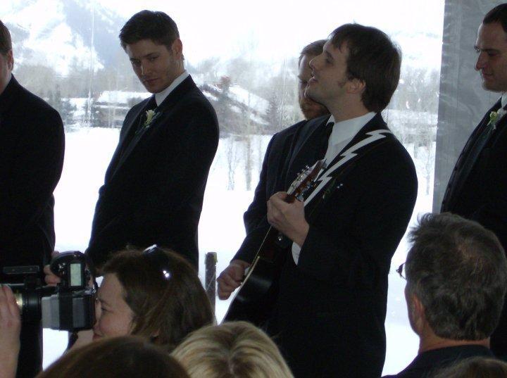 Jensen Wedding Photos Jensen at Jared's Wedding