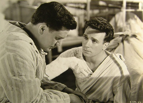 John Garfield and Dane Clark