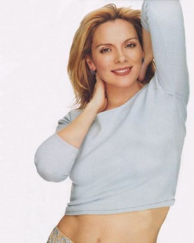 Kim Cattrall 壁纸 entitled Kim the one