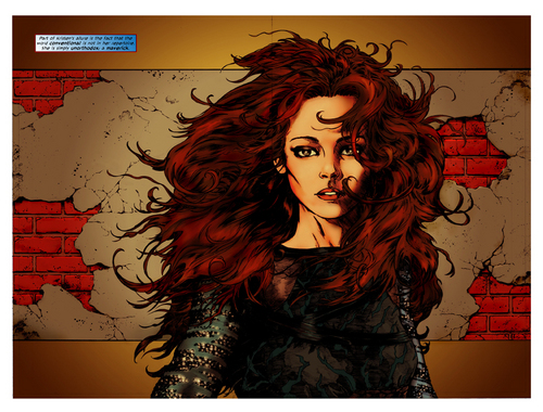 Kristen Stewart Comic Book