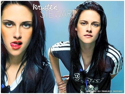 ক্রিস্টেন স্টুয়ার্ট দেওয়ালপত্র titled Kristen Stewart