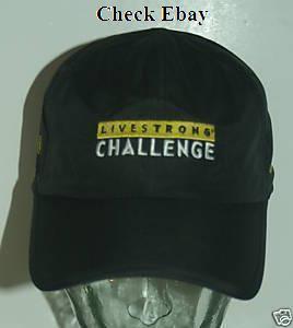 Livestrong Challenge 2010 hat