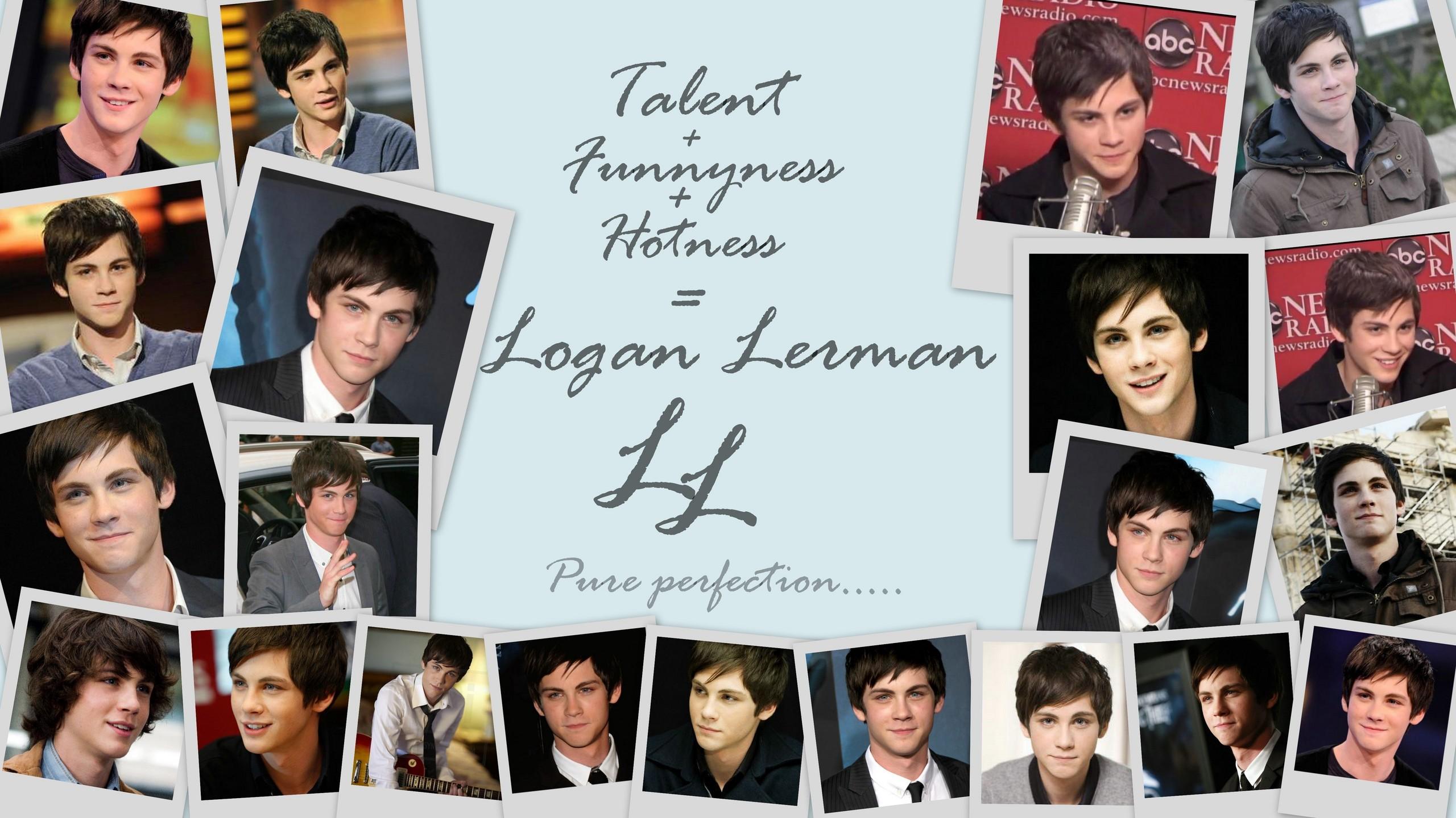 Logan - logan-lerman wallpaper