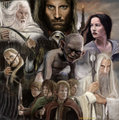 Lord of the Rings - books-to-read fan art