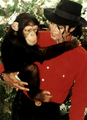 MJ And Bubbles - michael-jackson photo