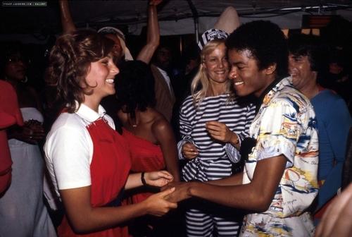 MJ and  Tatum O'neal