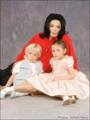 MJ and his Kids - michael-jackson photo