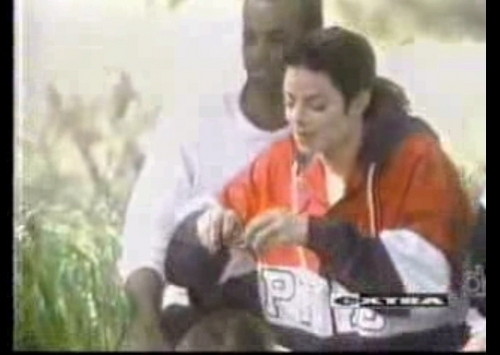 MJ backstage 사진