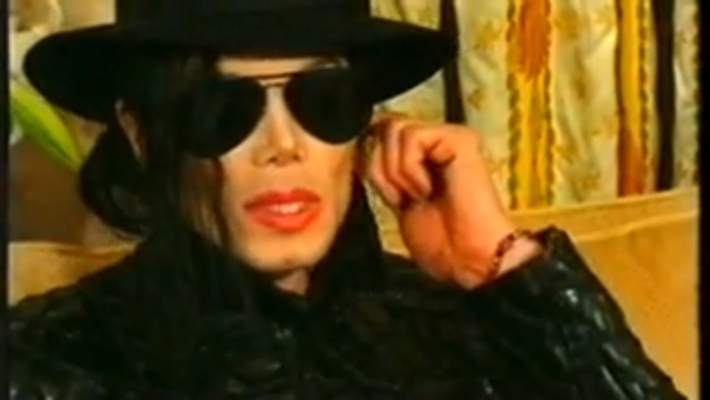 MJ during interview