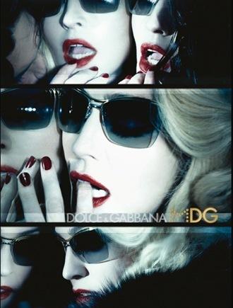 Madge for Dolce Gabbana