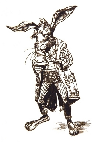March hare images march hare line drawing hd wallpaper and for March hare wallpaper