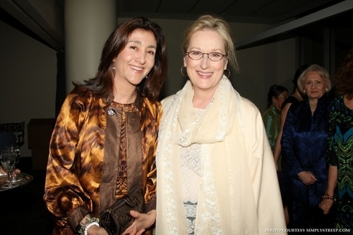 Meryl in DVF Awards 2010