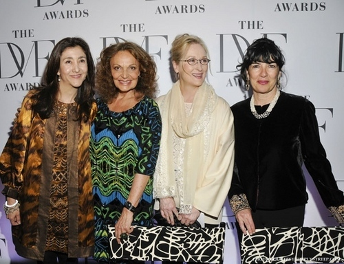 Meryl on DVF Awards 2010