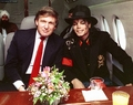 Michael & D. Trump - michael-jackson photo