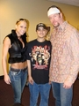 Michelle and The Undertaker w/ a fan
