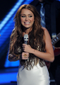 Miley Performs on American Idol