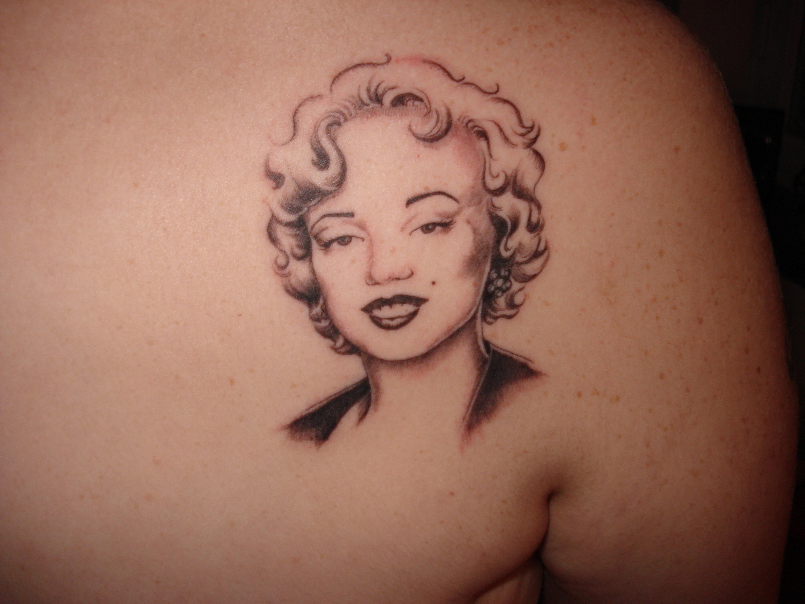 Marilyn Monroe My Marilyn tattoo =D