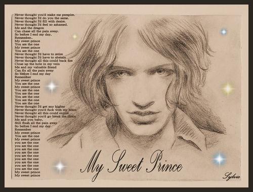 Brian Molko wallpaper entitled My Sweet Prince