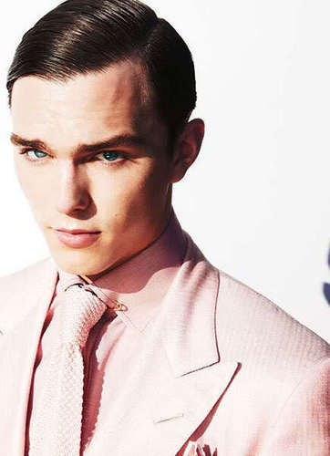 Nicholas Hoult for Tom Ford