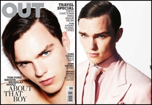 Николас Холт Обои called Nicholas Hoult for Tom Ford