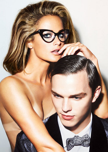 Николас Холт Обои entitled Nicholas Hoult for Tom Ford
