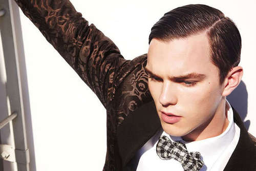 Nicholas Hoult wallpaper entitled Nicholas Hoult for Tom Ford