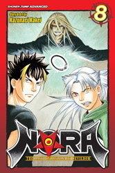 Nora manga Covers