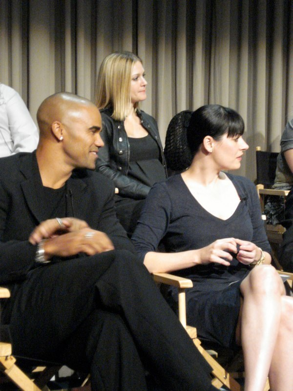 Paget and CM cast@Paley Center, 2008